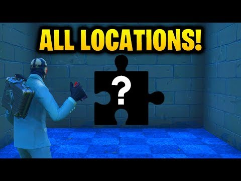 ''Search Jigsaw Puzzle Pieces in Basements'' ALL 7 LOCATIONS [Fortnite Season 5: Week 10 Challenges]