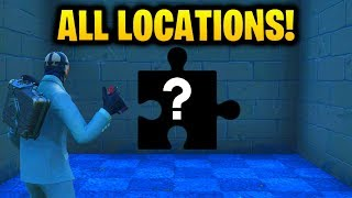 ''Search Jigsaw Puzzle Pieces in Basements'' ALL 7 LOCATIONS [Fortnite Season 5: Week 10 Challenges] thumbnail