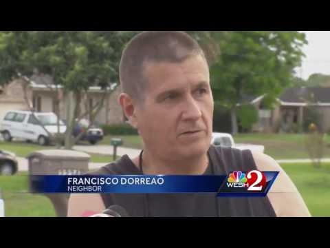 Father pulled from burning home in Deltona