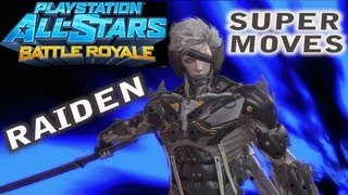 PlayStation All Stars - Raiden SUPER MOVES
