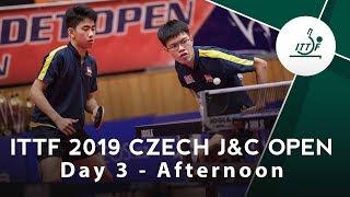 2019 Czech Junior & Cadet Open | Day 3 Afternoon