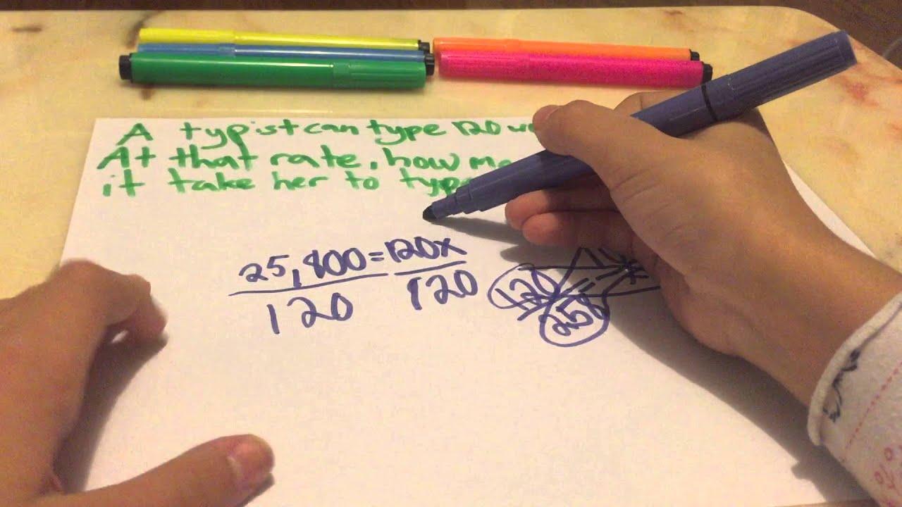 worksheet Proportion Word Problems Worksheets 6th Grade 6th grade proportion word problem 2 youtube 2