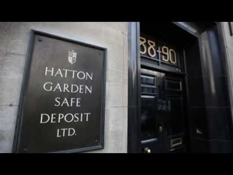 8 Money - Hatton Garden heist