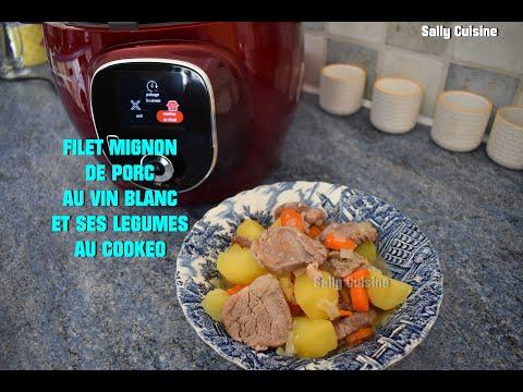 filet-mignon-de-porc-au-vin-blanc-et-ses-lÉgumes-au-cookeo-|-sally-cuisine-{episode-71}