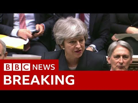 Brexit: Theresa May updates MPs on 31 October delay - BBC News
