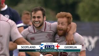 Scotland 31-39 Georgia - World Rugby U20 Championship Highlights