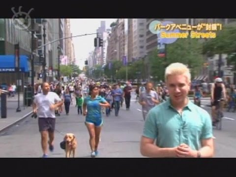 """The annual car free streets of NYC! 道路が""""封鎖""""されるSummer Streets"""