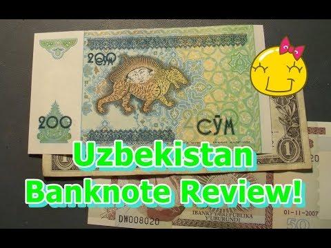 Uzbekistan Banknote Review