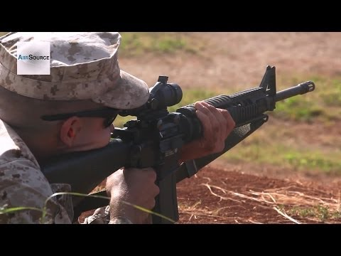 U.S. Marine Corp Annual Rifle Training at Puuloa Rifle Range