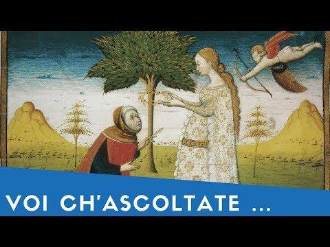 """""""Voi ch'ascoltate in rime sparse il suono"""" di Francesco Petrarca"""