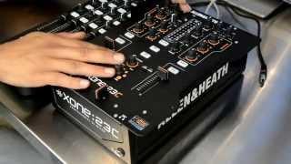 Allen & Heath Xone:23C 2+2 Channel Professional DJ Mixer Review Video
