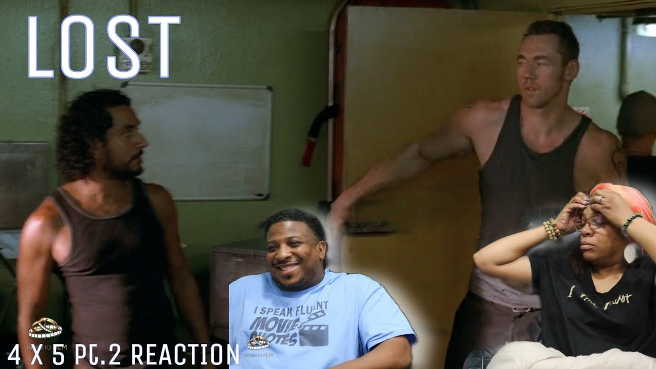 "Download Lost   REACTION - Season 4 Episode 5pt.2""The Constant"""