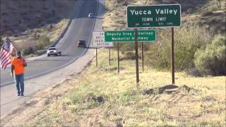 Day #221 (North from Yucca Valley, California) - Pastor Chick's Walk Across America