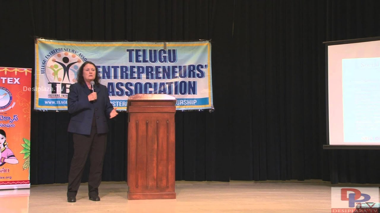 Ms Janelle Rae, Business Opportunity Specialist, speaking  at TEA Women Entrepreneurs Seminar