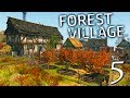 NO MORE SHACKS!! ORCHARDS, HOUSES, AND BUILDERIZATIONS! | Life is Feudal  Forest Village Gameplay E5
