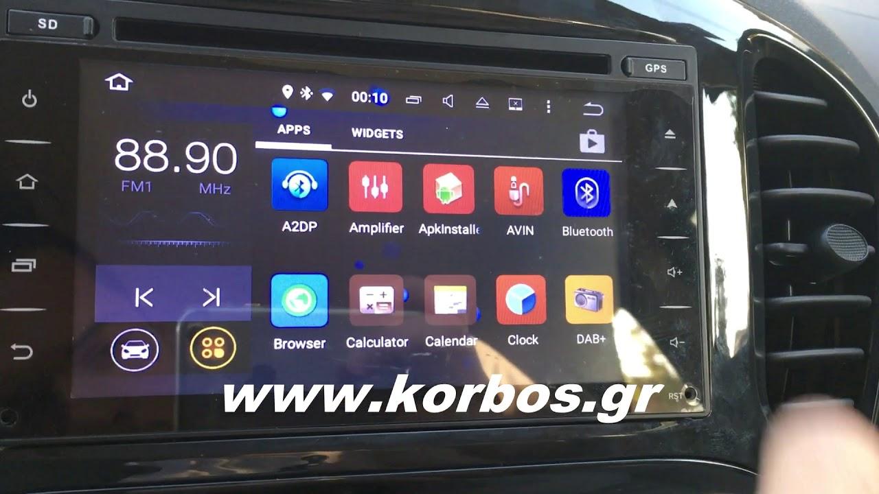 Nissan Juke-Bizzar Android Oem Multimedia www.korbos.gr