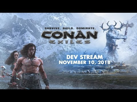 Conan Exiles dev stream - Q&A, Xbox One X and next content patch - 10.11.2017