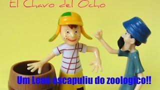 TURMA DO CHAVES: CHAVES, SEU MADRUGA, episodio 2 FUJAM! UM LEAO FUGIU DO ZOOLOGICO!!! #Toys