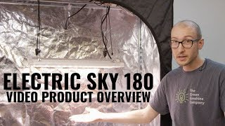 Electric Sky 180 LED Wideband Grow Light Product Video