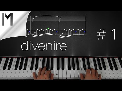 Divenire ~ Piano Tutorial ~ Part 1/3