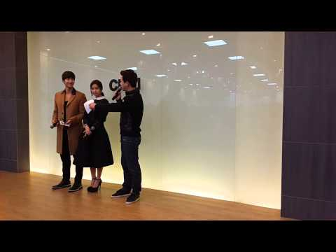 [141211] Jaerim ♡ Soeun at Cheil Worldwide Love Bazaar