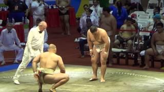 Сумо.Чемпионат мира по Сумо 2014 ( UKR vs. TPE) Командые соревнование