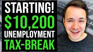 $10,200 unemployment tax bręak STARTS! | UNEMPLOYMENT UPDATE & 2021 TAXES 05/16/2021
