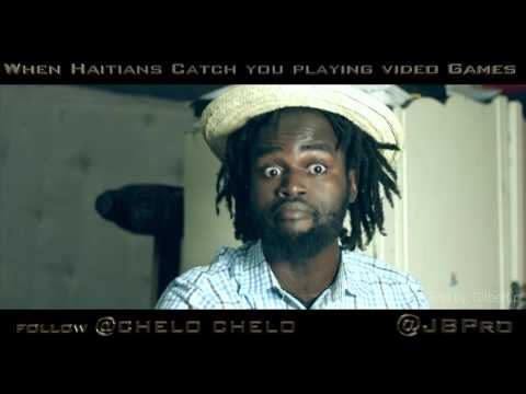 When Haitians Catch you Playing Video Games(music By: Corey finesse