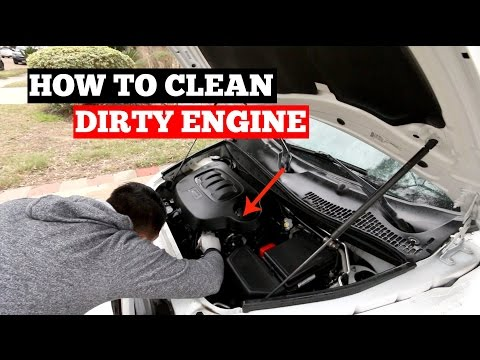 How To Clean A DIRTY Engine Bay- Ultimate Engine Cleaning Guide!