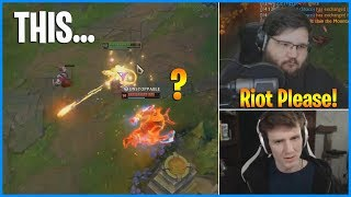 Caitlyn can Headshot Auto Attack in Bard's R..? Riot Games Please! LoL Daily Moments Ep 578