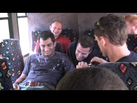 Fedor And Gegard Mousasi M-1 Global Crew Road Trip To StrikeForce V-Blog