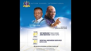 Sunday Service @ Action Chapel International, Spintex Road with Eastwood Anaba