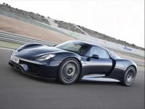 all new 2014 porsche 918 spyder black race track - Porsche Spyder 918 Black