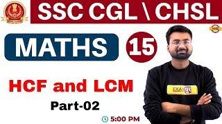 Class 15   #SSC CGL/CHSL   Maths / गणित    By Abhinandan Sir    HCF...