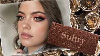 ABH Sultry Palette + Holiday Collection 2018 | Tutorial & Swatches | Julia Adams