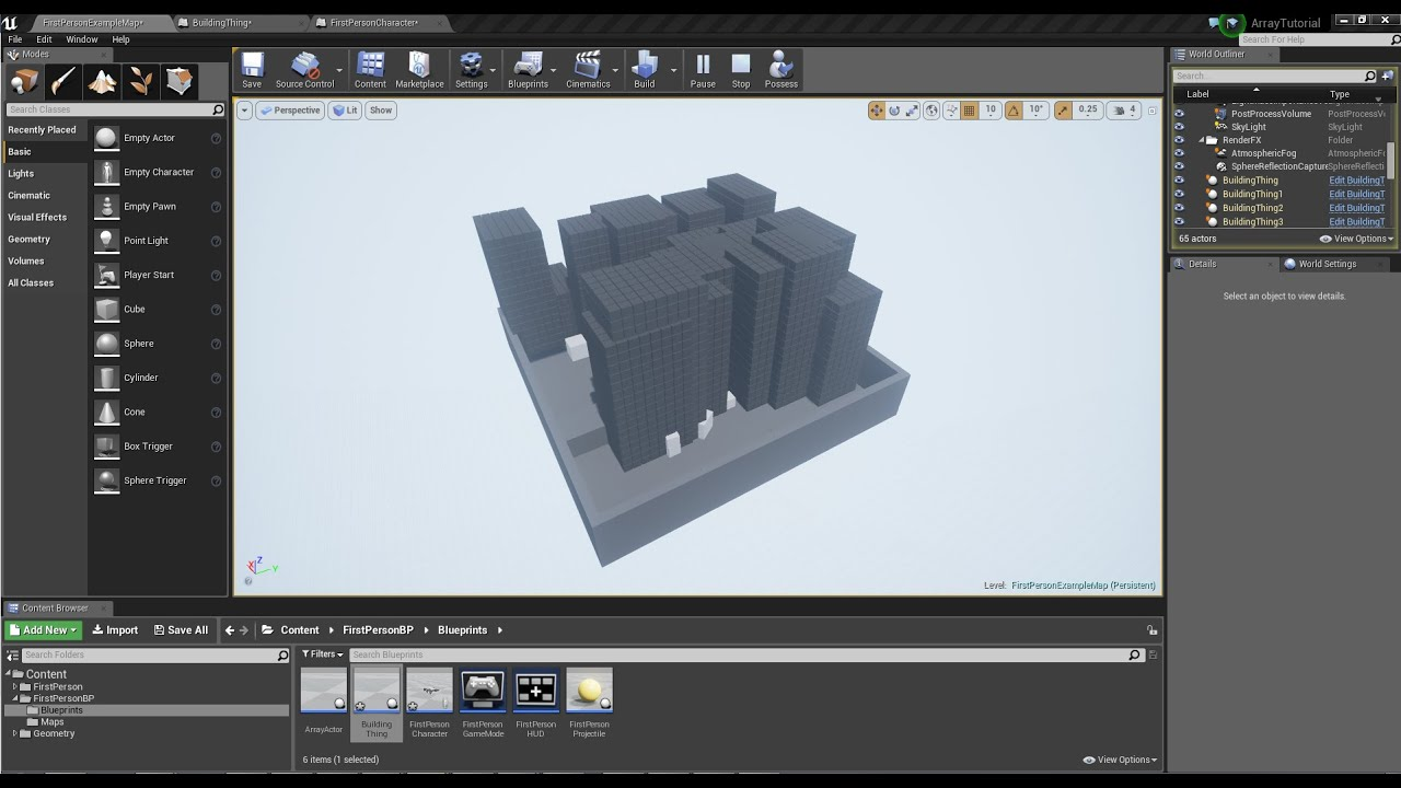 Object arrays tutorial beginner unreal engine 4 youtube malvernweather Image collections