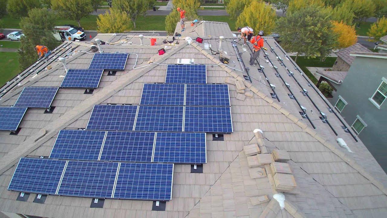 Vivint solar reviews california - The Hanna Family Vivint Solar Install