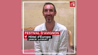 Mathieu Montanier : sa plus belle tirade d'amour #Avignon2019