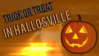 Trick or Treat in Hallowsville Roblox! HALLOWEEN SPECIAL!