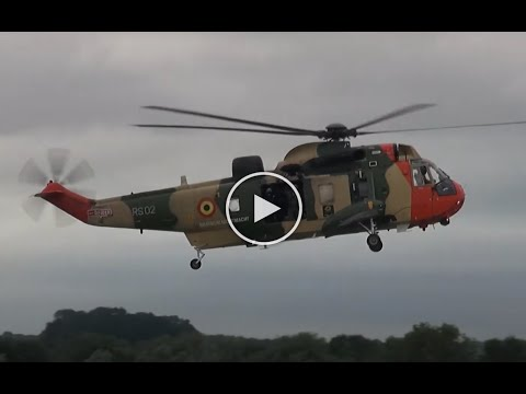 Westland Sea King Mk.48 Belgian Air Component - RIAT 2017