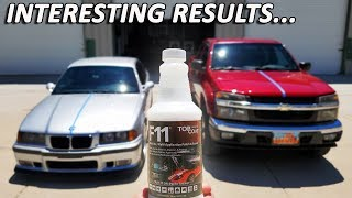 WHAT TO EXPECT when using TOP COAT F11: Reality Tested