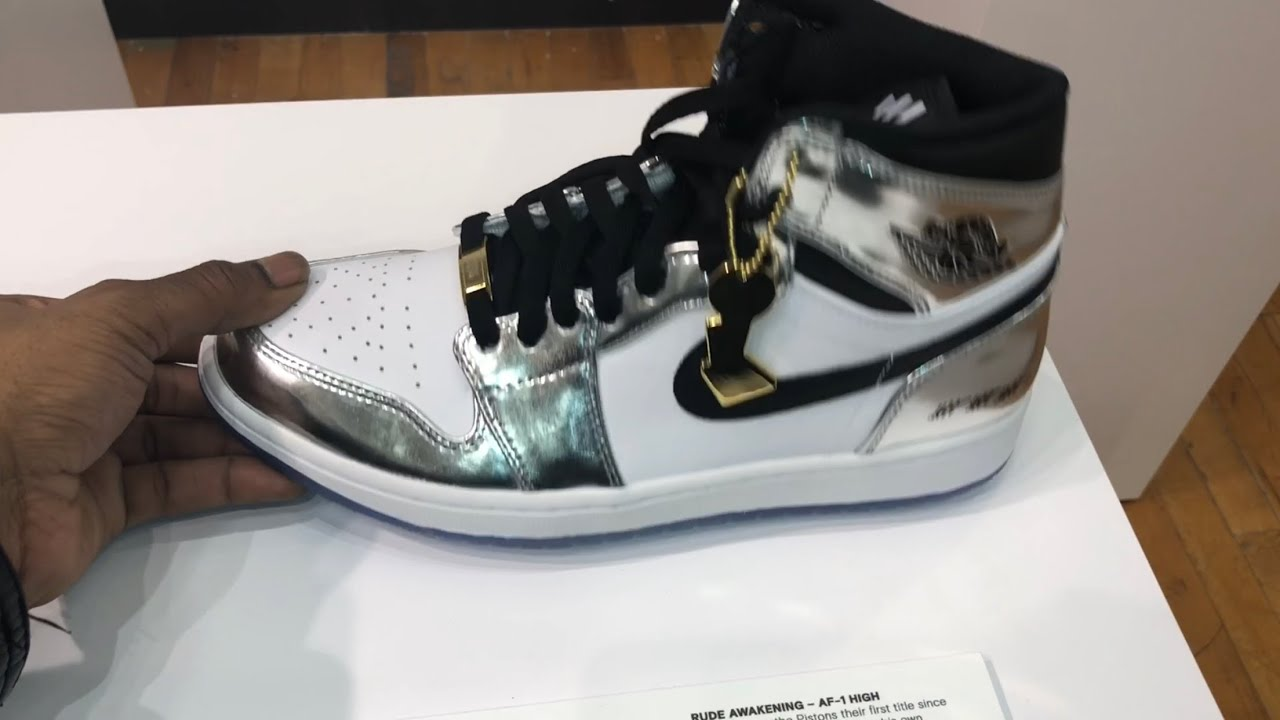 3914c7823cb Jordan 1 Pass the Torch in hand and most of the Nike Jordan Art of Champion  Collection