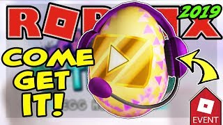 🔴 ROBLOX LIVE 🔴 LAUNCHING THE VIDEO STAR EGG EGG HUNT 2019 SCRAMBLED EN TIEMPO