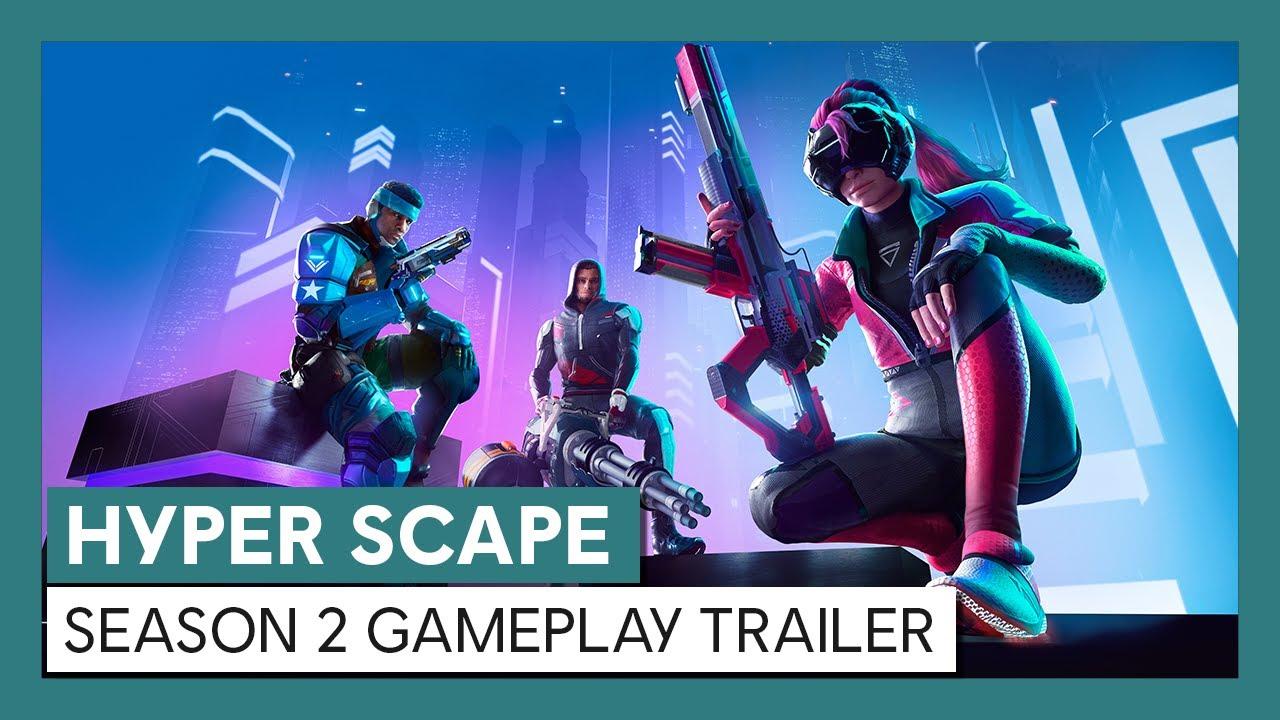 Hyper Scape: Season 2 Gameplay Trailer