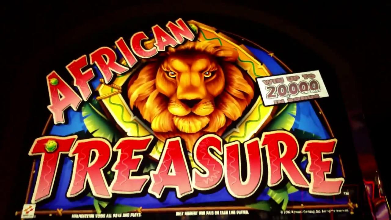 African Treasure Slot Machine