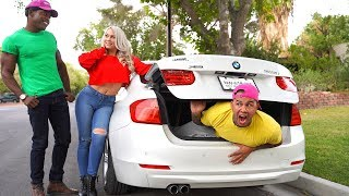 hide and seek in girlfreinds car and i spent the night in her car s...
