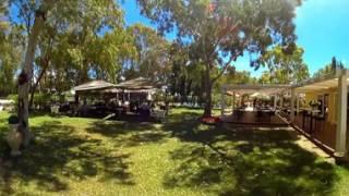 Ristobar - Camping Flumendosa di Santa Margherita a Pula, Cagliari, in Sardegna - Video 360