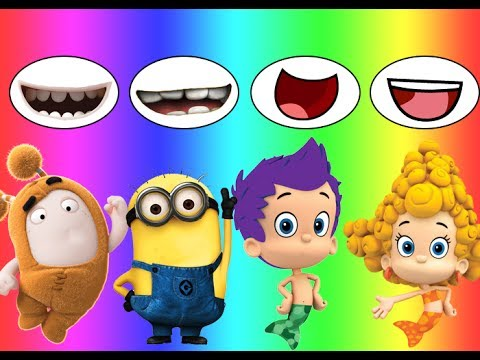 Thumbnail: Colors for children Wrong Mouth Bad Baby Oddbods Bubble Guppies Minions Family Song Nursery