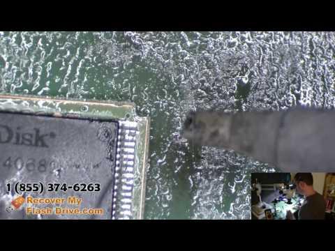 Swap a broken SanDisk Cruzer circut board