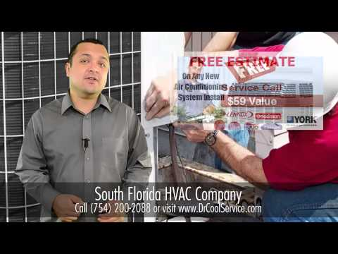 24 Hour HVAC (754) 200-2088 Dania Beach Air Conditioning Services